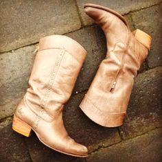 Buy a new pair of cowboy boots...and wear them often