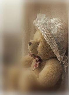 In Her Best Bear Hat ~