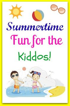 Simple fun activities for the summer bucket list