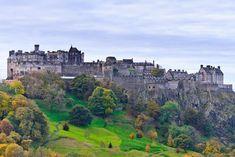 Mundo moderno y mundo antiguo separados por un parque inmenso y espectacular! Edimburgo Blow my mind!