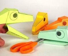 Print & Make Dinosaur Head Puppet