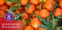 La mandarine est un fruit d'hiver souvent associé à la période de Noel. Ce petit fruit juteux et savoureux est aussi un fruit tonifiant et reminéralisant.