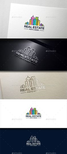 Real Estate Built Logo Template #design #logotype Download: http://graphicriver.net/item/real-estate-built/13535250?ref=ksioks
