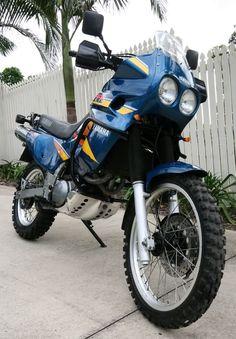 Touring Motorcycles, Cool Motorcycles, Yamaha Xt 600, Super Tenere, Ninja Bike, Motosport, Motor Scooters, Dual Sport, Cafe Racer