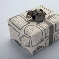 ecoChici reusable cloth gift wrap