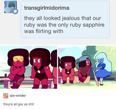 True xD(helloo thank you,people for telling me where to watch steven universe i've already finished watching it till now) <<<<<<<reblogging this TWICE