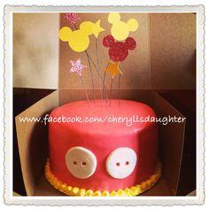 Chocolate Mickey Mouse Party Birthday Cake by Cheryll's Daughter Kansas City
