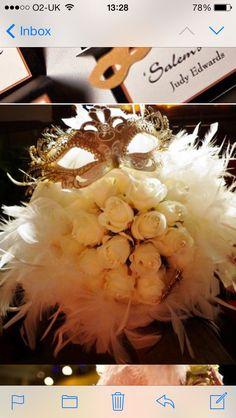 Beautiful masquerade bouquet..