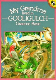 My Grandma Lived in Gooligulch (Picture Puffin) by Graeme Base http://www.amazon.co.uk/dp/0140509410/ref=cm_sw_r_pi_dp_-Wpuub0CSJWC8