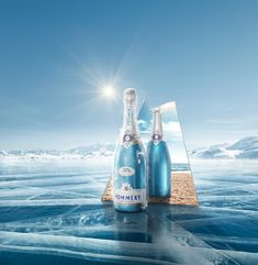 """Check out this @Behance project: """"Pommery Royal Blue Sky"""" https://www.behance.net/gallery/45753735/Pommery-Royal-Blue-Sky"""