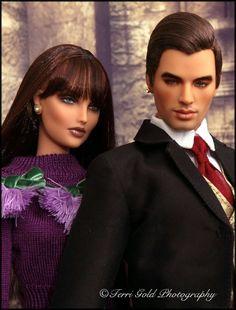 Collecting Fashion Dolls by Terri Gold: Deva Doll Angelo and Kingdom Doll Brunel