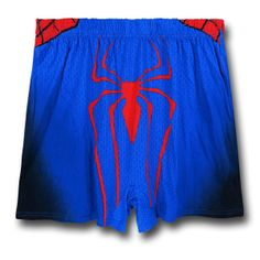 Spider-Man Costume Boxer Shorts