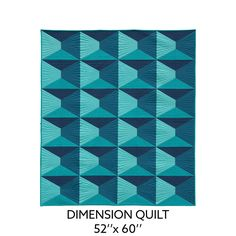 Nydia Kehnle — Dimension Quilt Pattern