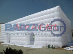 Inflatable Exhibition Event Tent, 52.5 L x 26 W ft