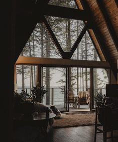 Cabins In The Woods, House In The Woods, My House, Future House, Getaway Cabins, A Frame House, Forest House, Forest Cabin, Cabins And Cottages