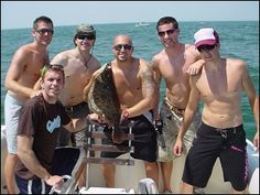 Bachelor Party Fishing Trip