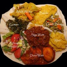 Ethiopian food- my all time favorite