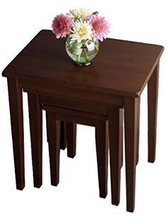 Regalia 3pc Nesting Table ❤ Winsome