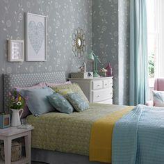 Bedroom 2 duck egg bedroom ideas IH April p33