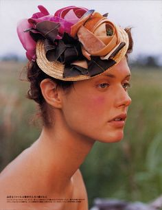 Stephen Jones Millinery for Vogue Nippon- I am going to make one of these for sure!