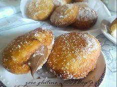 Delicious bavarian doughnuts realised with Farmo FibrePan Gluten Free Doughnuts, Bomboloni, Frittata, Sans Gluten, Pretzel Bites, Vegan Gluten Free, Baked Potato, Bread, Ethnic Recipes