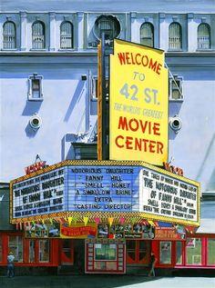 RICHARD ESTES http://www.widewalls.ch/artist/richard-estes/ #hyperrealism #painting #photorealism