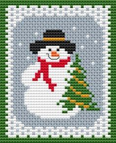 """Diy Crafts - Free Cross Stitch Patterns """"Christmas or New Year's Eve cross stitch card with the childhood favorite character -happy Frosty waitin Cross Stitch Christmas Cards, Xmas Cross Stitch, Cross Stitch Cards, Cross Stitch Kits, Christmas Cross, Cross Stitching, Cross Stitch Embroidery, Free Cross Stitch Charts, Funny Christmas"""