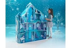 KidKraft  Disney® Frozen Snowflake Mansion 65880 http://www.MiniProducts.eu