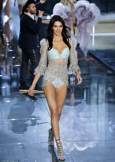 Gigi Hadid and Kendall Jenner join the angels at Victoria's Secret 2015 Show | Daily Mail Online
