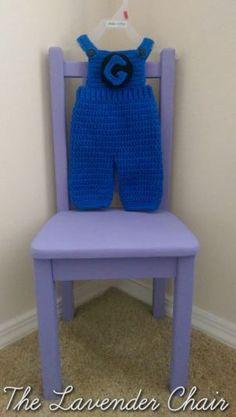 Minion Jumpsuit Free Crochet Pattern - 0-18months - The Lavender Chair