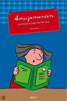 Amuzementen. Boek vol met ideeën om te spelen met taal. Te gebruiken bij meerdere vakgebieden.