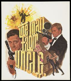 Year of the Spy: Man From U.N.C.L.E. 1966 NBC Promo...Watched this every week