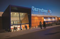 Carrefour is one of the largest hypermarket and supermarket chains in the world.