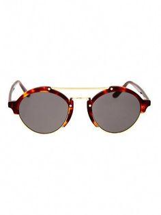 3d6209b7d73 Illesteva Milan Havana round sunglasses  JimmyChoo Cheap Ray Ban Sunglasses