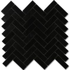 matte black floor tile - Google Search
