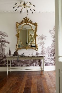 Traditional trompe l'oeil - Hallway Ideas – Decorating Ideas (houseandgarden.co.uk)