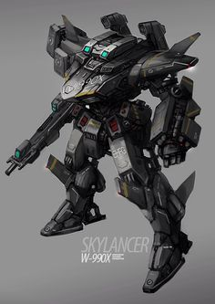 SkyLancer by rickyryan on @DeviantArt