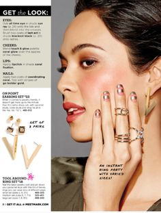 Get the look - only from MARK! #avonpylesvillestore #avon #mark #beauty #jewelry #trendy