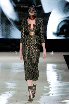 amazing collection..can I just pin every look? -Alexander McQueen Spring13