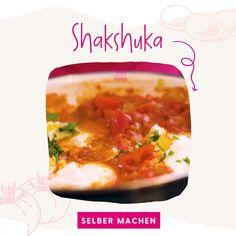 Heute gibt es leckeres Shakshuka zum selber machen! Dies ist eines meiner liebsten Shakshuka Rezepte. Lass es dir super gut schmecken! #Shakshuka #ShakshukaRezepte Videos, Shakshuka Recipes, Super Simple, Food Dinners, Diy