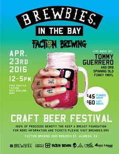 New blog post! Brewbies in the Bay: Fall in love with the local brewery scene and support a good cause!