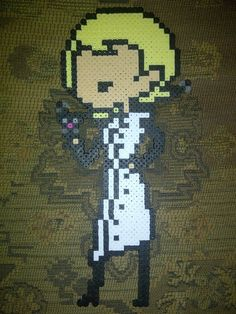 26 Kandi, Homestuck, Bead Patterns, Bead Crafts, Perler Beads, Pixel Art, Projects To Try, Gay, Cross Stitch