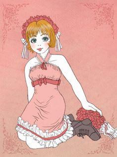 Klassinen lolita mekko