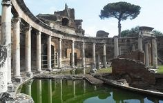Ancient Roman Baths Ruins