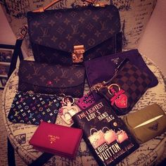 Instagram media flamommy618 - What's in my bag - last week. :) #pochettemetis #whatsinmybag #prada #monogram #louisvuitton #lvagenda #lvminipochette #バッグの中身 #pradakeychain #pink #ピンク #ポーチ #pouch #pochette #whatsinmypurse #tpf #lvoe #inmybag #かばんの中身 #whatsinmybags #whatisinmybags