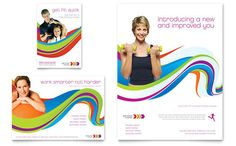 Personal Trainer - Flyer & Ad Template Design Sample