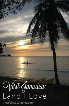 Visit Jamaica: Land I Love. Sunset in Negril!