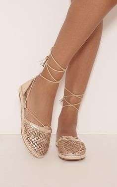 Margo Gold Metallic Espadrille Sandals Image 1