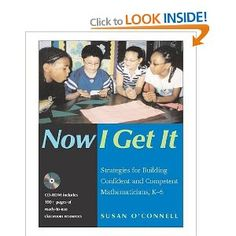 This is a great starter book for developing understanding of a math program that is based on problem solving.  The chapter on writing in math harkens right back to the past years' learning cycles.  Differentiated instruction means bringing Daily 5 math into the classroom.  And the parental engagement chapter was enlightening.  Along with 'Books for Breakfast', should we be having a Family Math night to help parents understand the 'new' way of thinking about math?