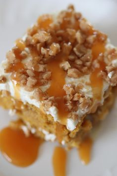 Mary's Notes: Very moist and delicious. 1 can sw. cond. milk was enough for us. Pumpkin Poke Cake